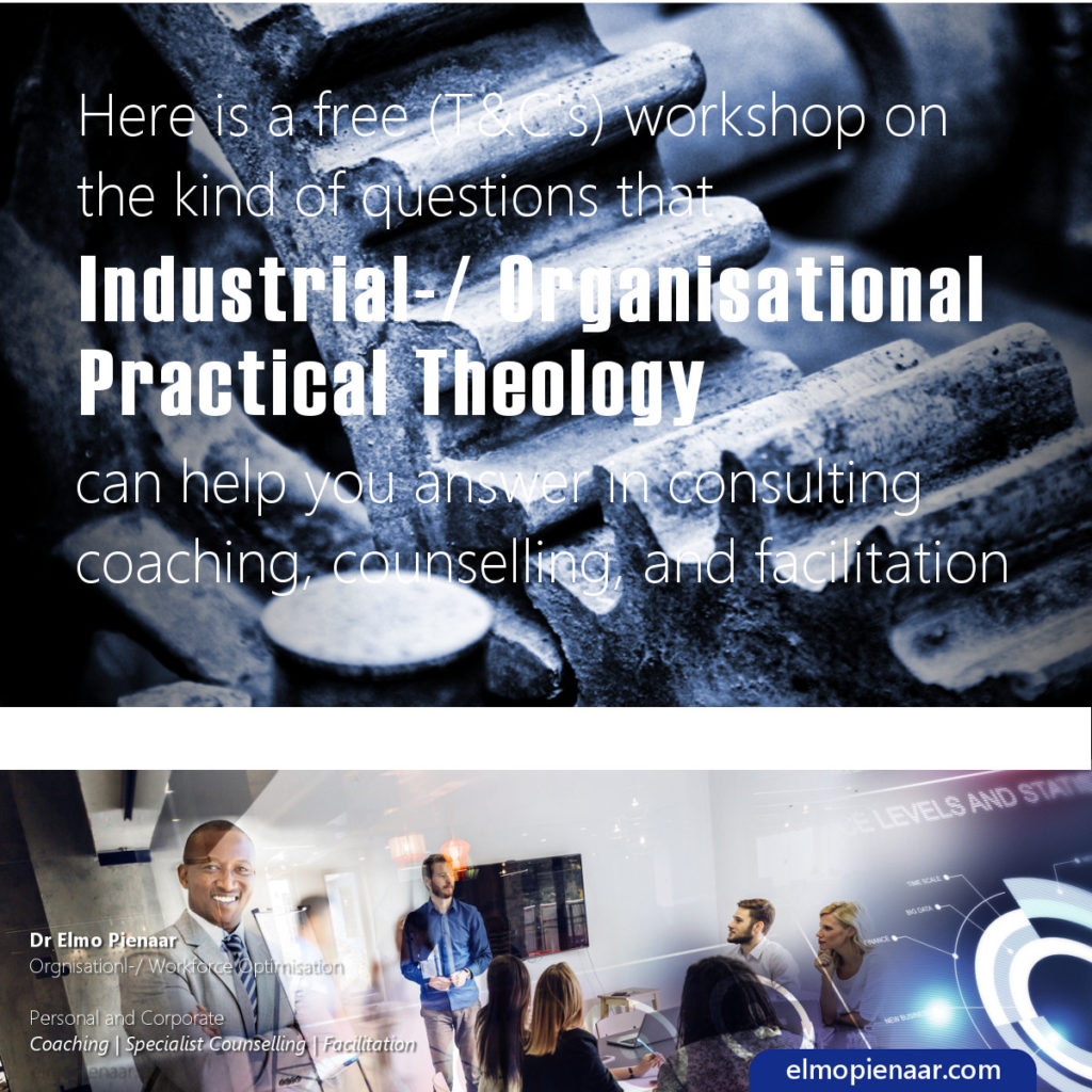 Industrial Organisational Practical Theology Offer