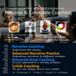 Advanced coaching programme 2020